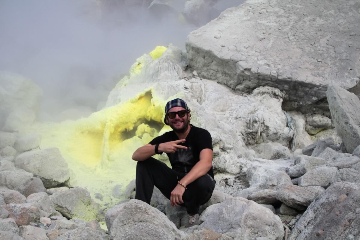 Berastagi: Sonnenaufgang auf einem aktiven Vulkan